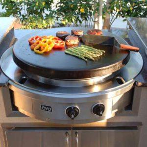 Evo Grill - Circular Flat Top