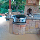 Evo Flat Top Grill Outdoor Kitchen