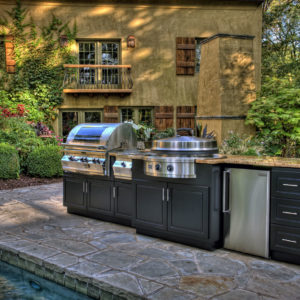 Evo Grill Cooktop Outdoor Kitchen