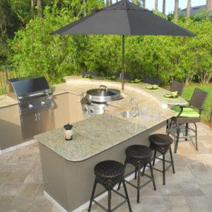 Evo Grills Cooktop Outdoor Kitchen