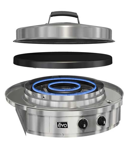 Evo Grill Two Burners