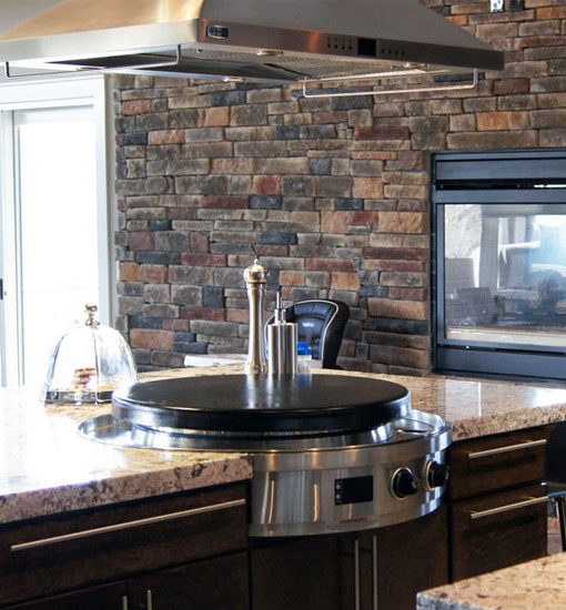 Evo Grill Indoor 30 Quot Affinity Elite Natural Gas Cooktop