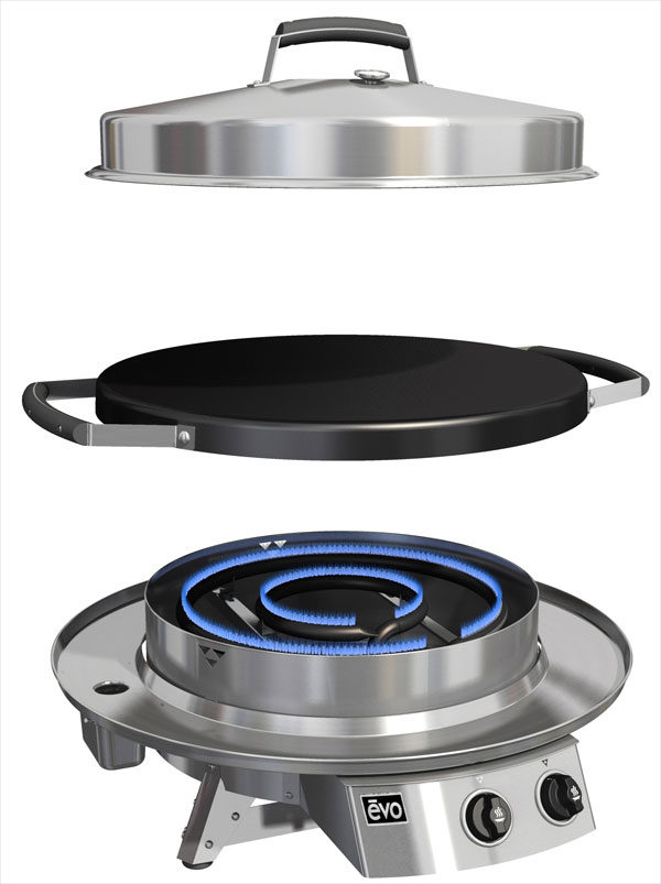 Evo Grill 30 Professional Tabletop Burners