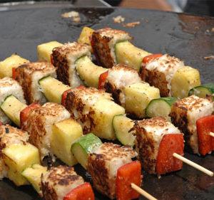 Tofu and Vegatable Kababs