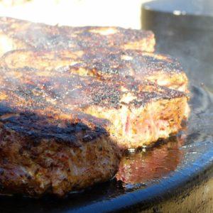 steak grilled on evo by mark stark