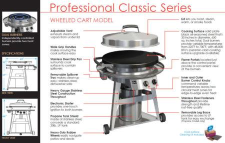 Evo Grill Professional Classic