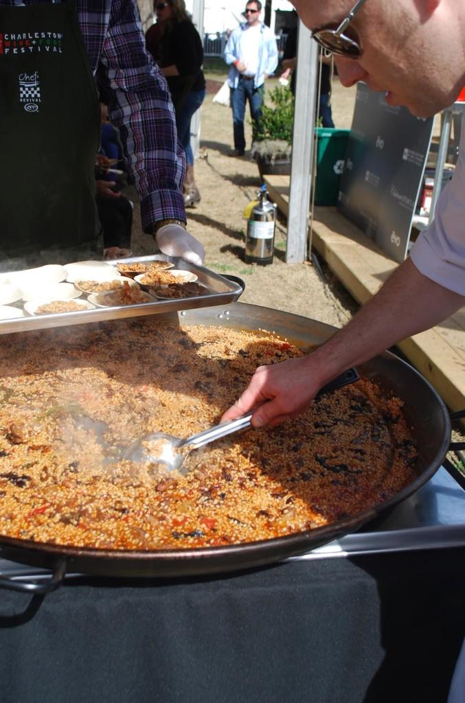 paella on the evo