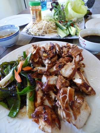 Amazing EVO Grilled Sesame Ginger Chicken Recipe