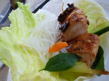 one amazing evo grilled sesame chicken recipe