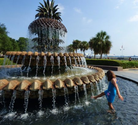 pineapple fountain charleston.SC