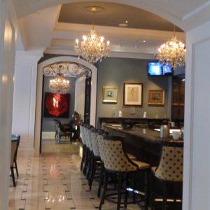 Bar at Vendue Inn Charleston,SC