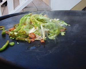 Grilled Vegitarian Stir Fry on the EVO