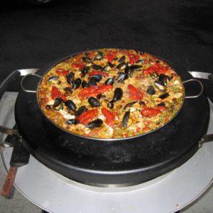 Seafood Paella on the EVO