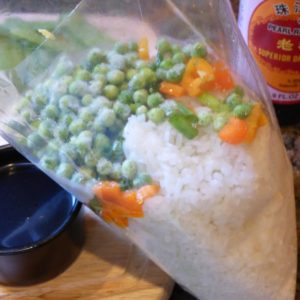 easy hibachi dinner party with fried rice