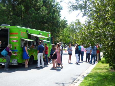 Food Truck Phenomenon hits Daniel island, SC