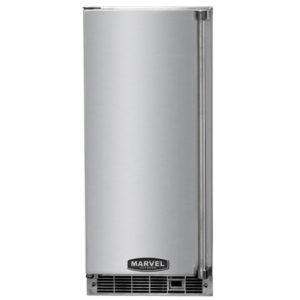 Marvel-outdoor-refrigeration-clear-ice-machine-30iMT-SS-F