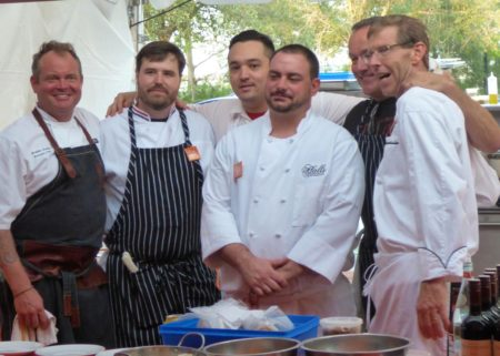 All Star Charleston Chefs Party Outdoors