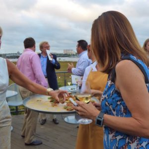 outdoor party for no kid hungry charleston