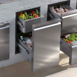 ronda outdoor stainless drawers outdoorlux