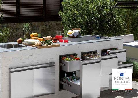 ronda outdoor kitchen components outdoorlux
