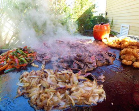 evo grill recipe super bowl cheesesteaks
