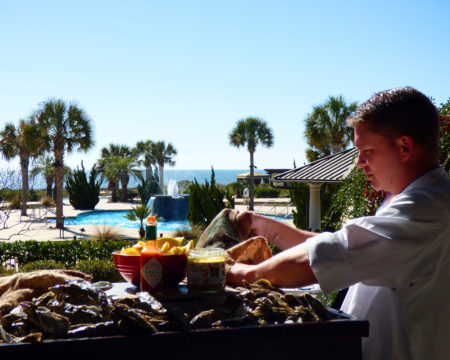 Brunch at Kiawah Resort, SC