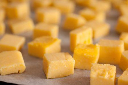 polenta cubes for grilling