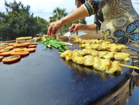 entertaining with evo procart grill