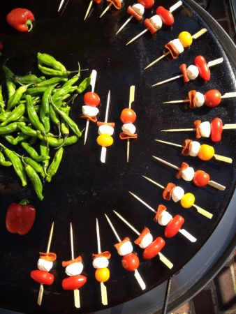 Simple Kabobs Kicked Up on EVO