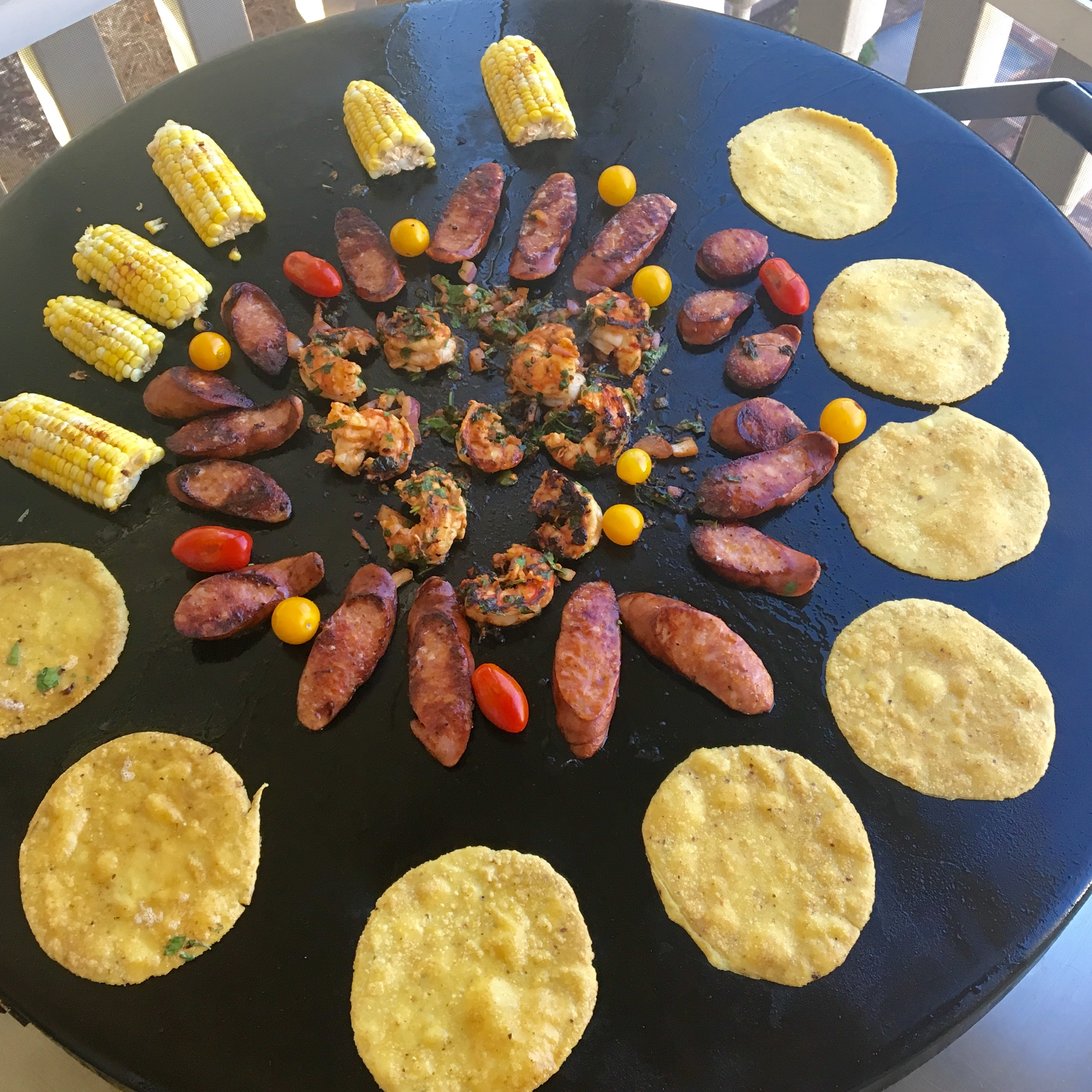 creole tacos evo grills