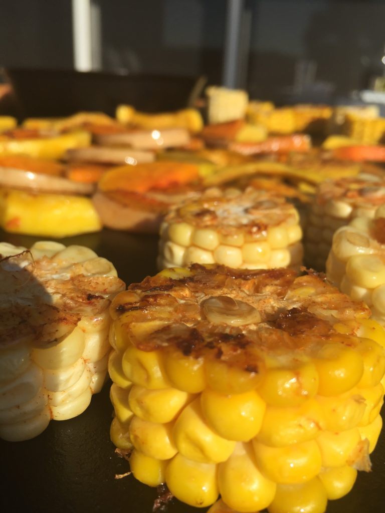 EVO grilled corn